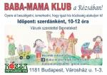 Baba-mama klub a Rózsában