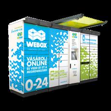 WeBox Csomagterminál - Spar, Nefelejcs utca