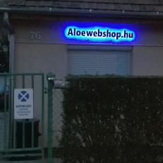 Aloewebshop utcakép
