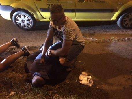 A csalók elkapása a Kerepesi úton (forrás: police.hu)