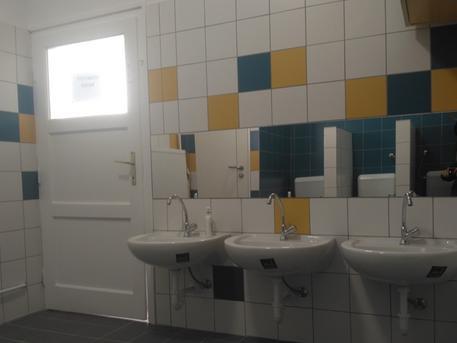 A Nyuszi csoport új mosdója (forrás: Városgazda18)
