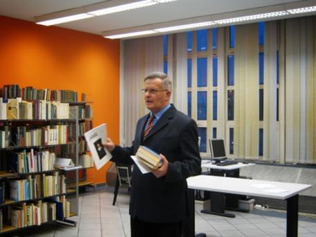 Sonnleitner Károly életmód-tanácsadó (forrás: FSZEK)