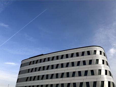 A reptéri szálloda (fotó: Koszticsák Szilárd - MTI)