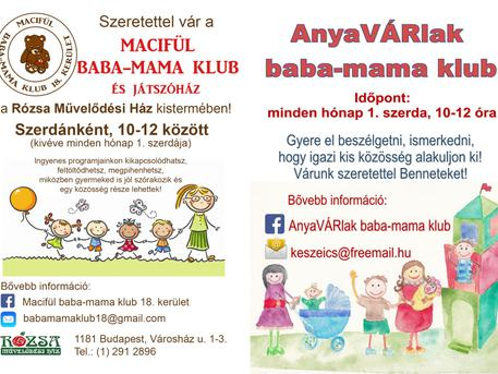 Macifül baba-mama klub - Gyerekek, gyerekek...