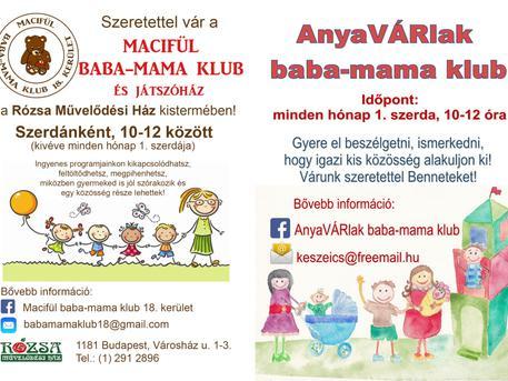 Macifül baba-mama klub - Zenebona és Macifül játszóház