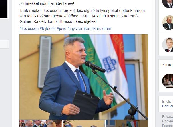 A bejelentés Kucsák László Facebook-oldalán is megjelent