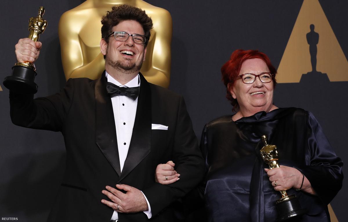Deák Kristóf rendező és Udvardy Anna producer (forrás: Deák Kristóf Facebook-oldala)