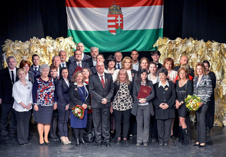 A díjazottak (forrás: Ughy Attila)